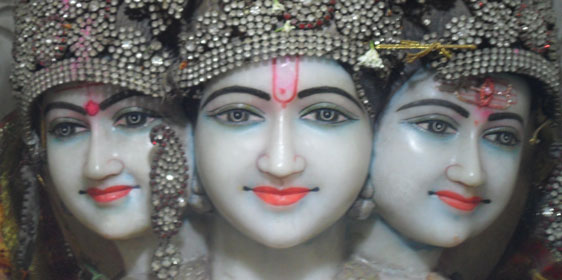 Lords Brahma Vishnu and Shiva